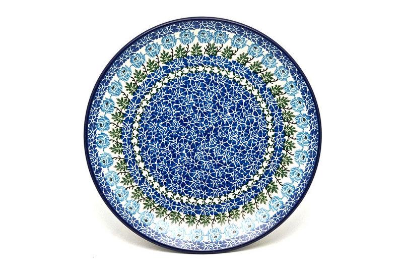 "Ceramika Artystyczna Polish Pottery Plate - Dinner (10 1/2"") - Antique Rose 223-1390a (Ceramika Artystyczna)"