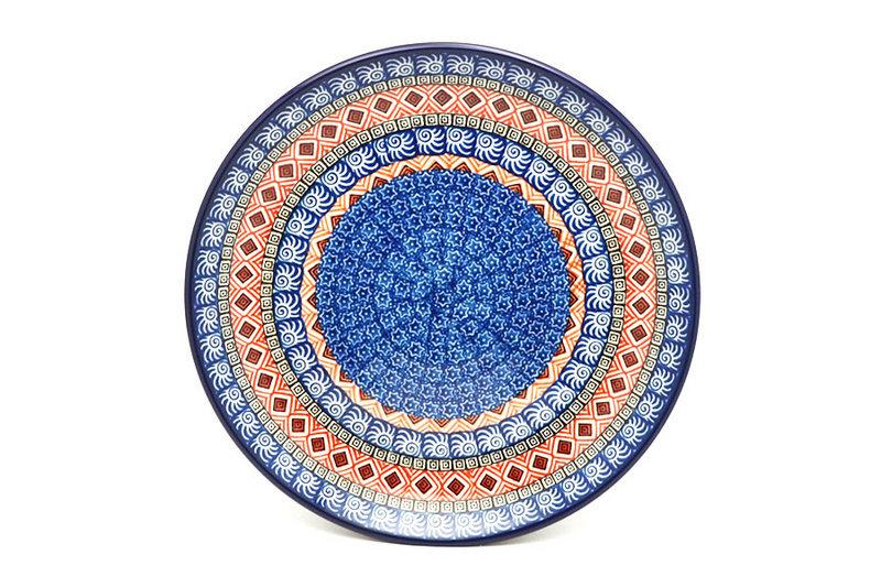 "Ceramika Artystyczna Polish Pottery Plate - Dinner (10 1/2"") - Aztec Sun 223-1350a (Ceramika Artystyczna)"