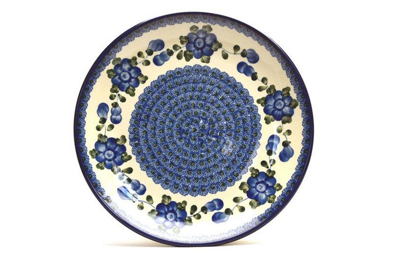 "Ceramika Artystyczna Polish Pottery Plate - Dinner (10 1/2"") - Blue Poppy 223-163a (Ceramika Artystyczna)"