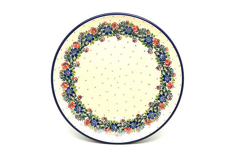"Ceramika Artystyczna Polish Pottery Plate - Dinner (10 1/2"") - Garden Party 223-1535a (Ceramika Artystyczna)"