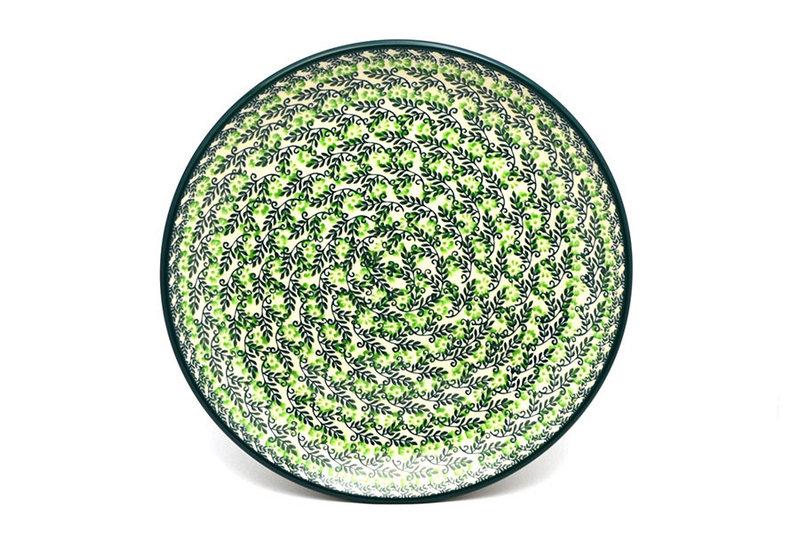 "Ceramika Artystyczna Polish Pottery Plate - Dinner (10 1/2"") - Irish Meadow 223-1888q (Ceramika Artystyczna)"