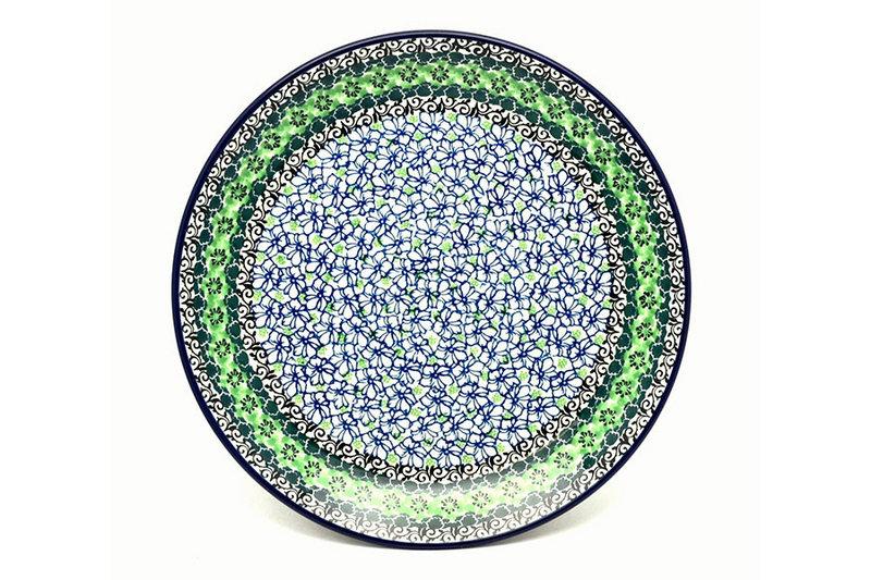 "Ceramika Artystyczna Polish Pottery Plate - Dinner (10 1/2"") - Kiwi 223-1479a (Ceramika Artystyczna)"