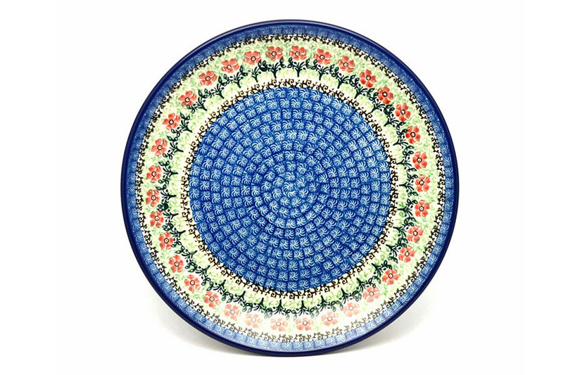 "Ceramika Artystyczna Polish Pottery Plate - Dinner (10 1/2"") - Maraschino 223-1916a (Ceramika Artystyczna)"