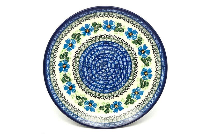 "Ceramika Artystyczna Polish Pottery Plate - Dinner (10 1/2"") - Morning Glory 223-1915a (Ceramika Artystyczna)"