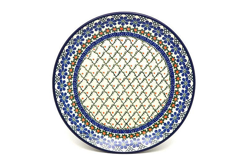 "Ceramika Artystyczna Polish Pottery Plate - Dinner (10 1/2"") - Primrose 223-854a (Ceramika Artystyczna)"