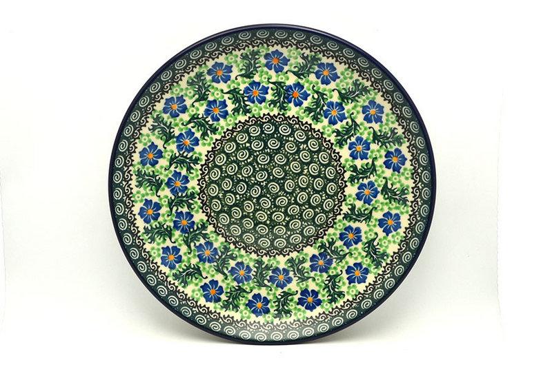 "Ceramika Artystyczna Polish Pottery Plate - Dinner (10 1/2"") - Sweet Violet 223-1538a (Ceramika Artystyczna)"