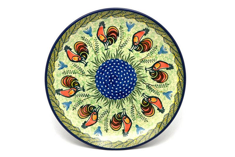 "Ceramika Artystyczna Polish Pottery Plate - Dinner (10 1/2"") - Unikat Signature - U2663 223-U2663 (Ceramika Artystyczna)"