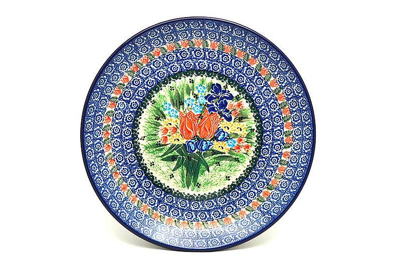"Ceramika Artystyczna Polish Pottery Plate - Dinner (10 1/2"") - Unikat Signature U3516 223-U3516 (Ceramika Artystyczna)"