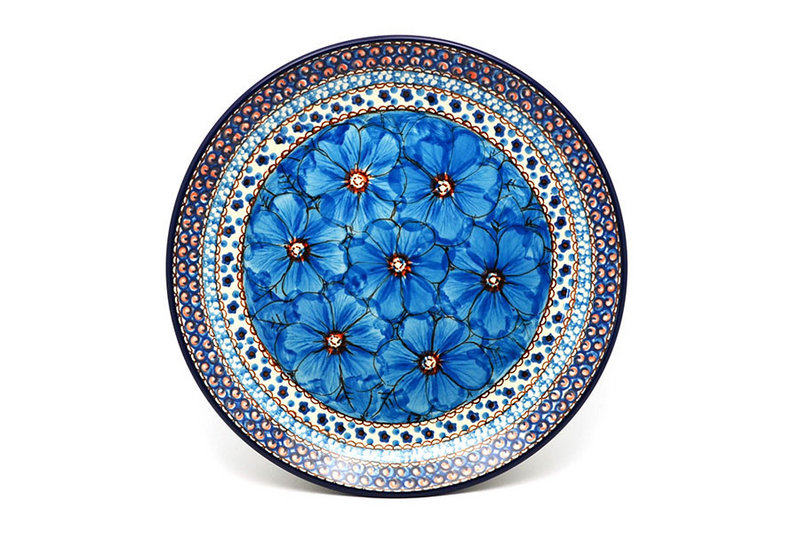"Ceramika Artystyczna Polish Pottery Plate - Dinner (10 1/2"") - Unikat Signature U408C 223-U408C (Ceramika Artystyczna)"