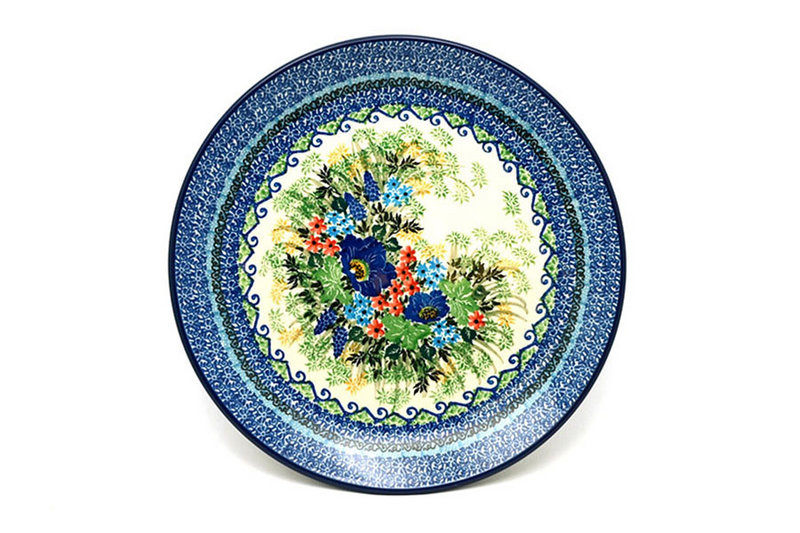 "Ceramika Artystyczna Polish Pottery Plate - Dinner (10 1/2"") - Unikat Signature U4695 223-U4695 (Ceramika Artystyczna)"