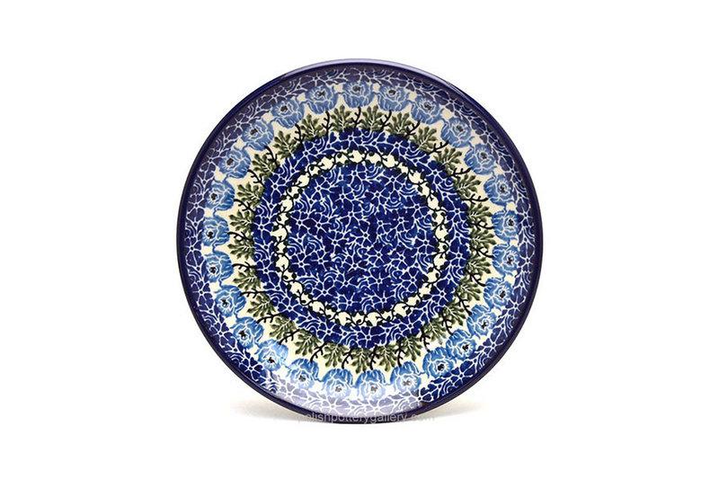 "Ceramika Artystyczna Polish Pottery Plate - Salad/Dessert (7 3/4"") - Antique Rose 086-1390a (Ceramika Artystyczna)"