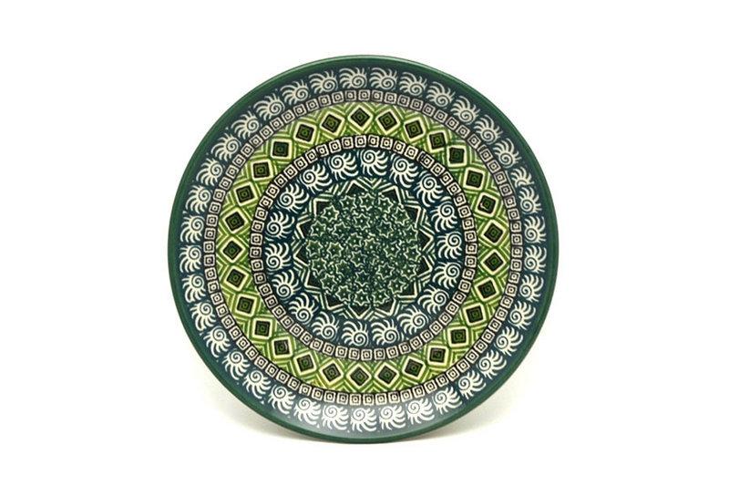 "Ceramika Artystyczna Polish Pottery Plate - Salad/Dessert (7 3/4"") - Aztec Forest 086-1919q (Ceramika Artystyczna)"