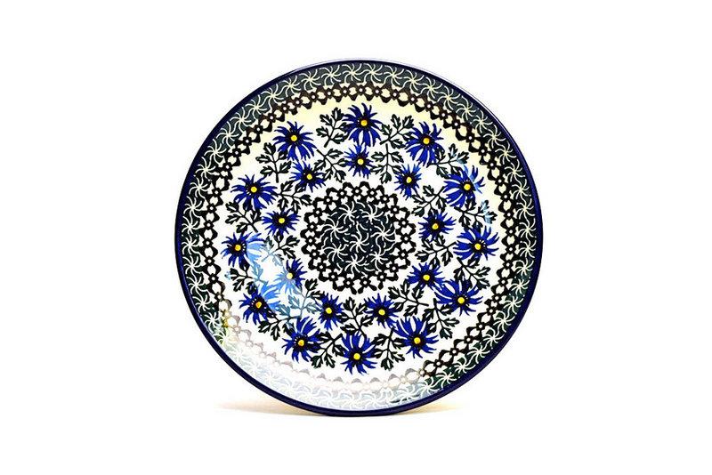 "Ceramika Artystyczna Polish Pottery Plate - Salad/Dessert (7 3/4"") - Blue Chicory 086-976a (Ceramika Artystyczna)"