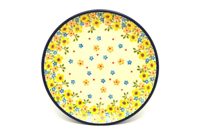 "Ceramika Artystyczna Polish Pottery Plate - Salad/Dessert (7 3/4"") - Buttercup 086-2225a (Ceramika Artystyczna)"