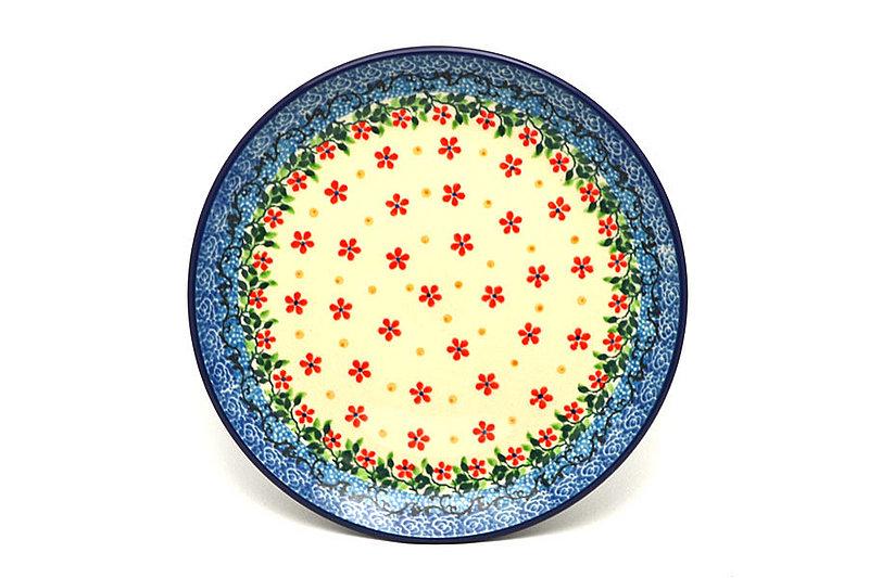 """Ceramika Artystyczna Polish Pottery Plate - Salad/Dessert (7 3/4"""") - Cherry Jubilee 086-2284a (Ceramika Artystyczna)"""