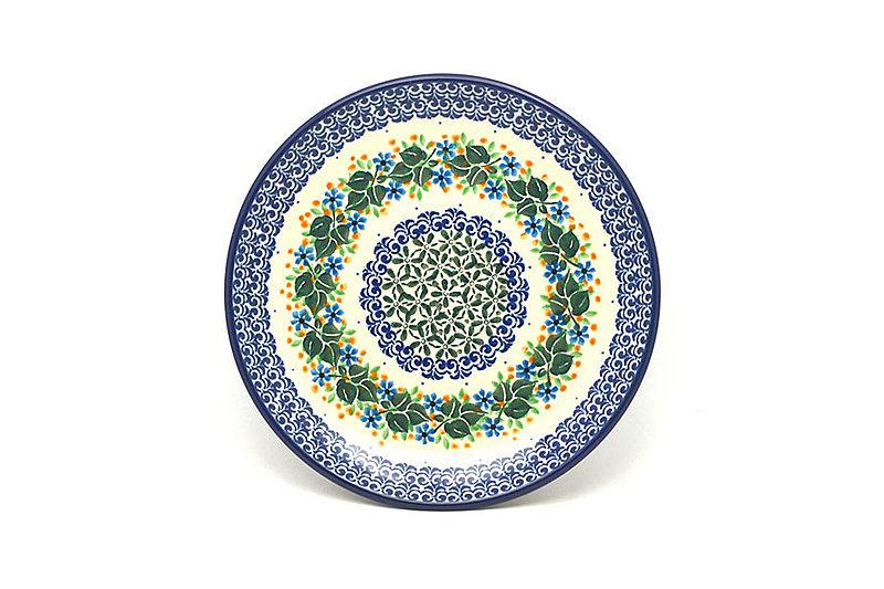 "Ceramika Artystyczna Polish Pottery Plate - Salad/Dessert (7 3/4"") - Ivy Trail 086-1898a (Ceramika Artystyczna)"