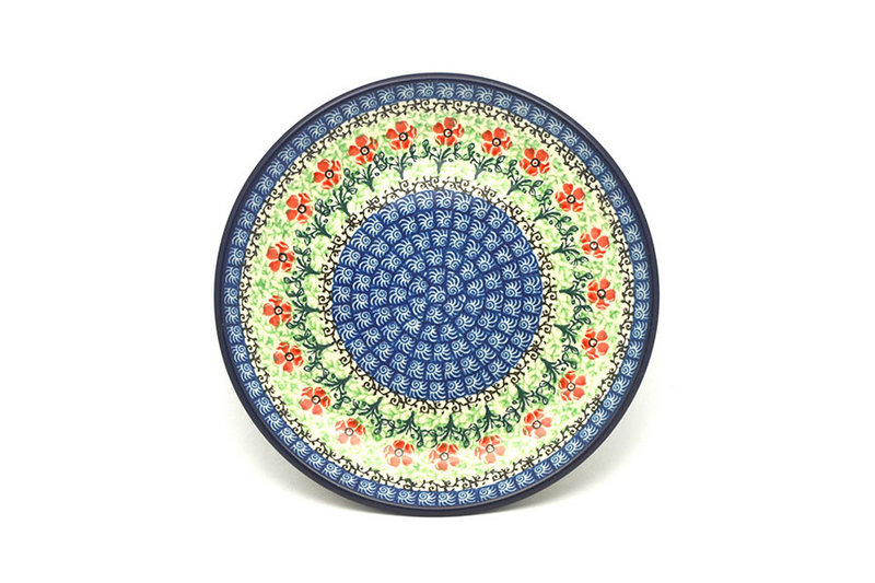 "Ceramika Artystyczna Polish Pottery Plate - Salad/Dessert (7 3/4"") - Maraschino 086-1916a (Ceramika Artystyczna)"