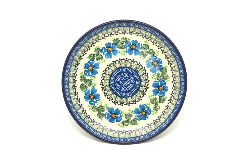 "Ceramika Artystyczna Polish Pottery Plate - Salad/Dessert (7 3/4"") - Morning Glory 086-1915a (Ceramika Artystyczna)"