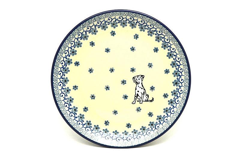 "Ceramika Artystyczna Polish Pottery Plate - Salad/Dessert (7 3/4"") - Sparky 086-2602a (Ceramika Artystyczna)"