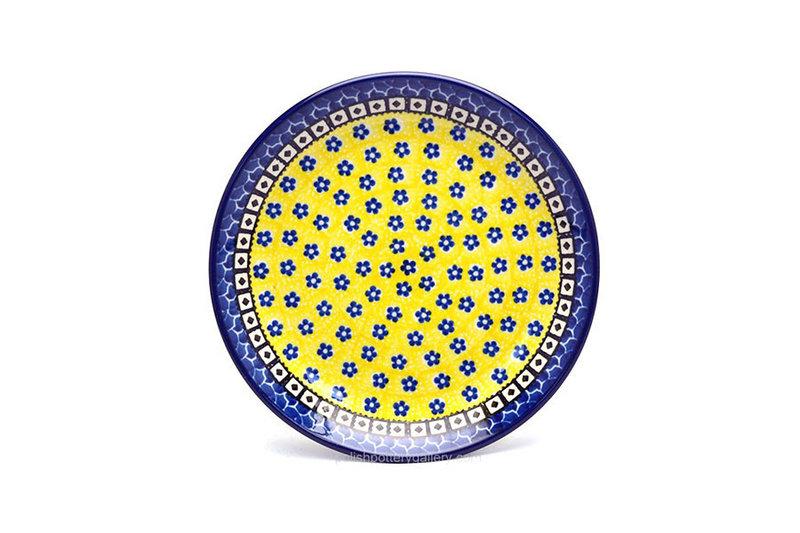 "Ceramika Artystyczna Polish Pottery Plate - Salad/Dessert (7 3/4"") - Sunburst 086-859a (Ceramika Artystyczna)"