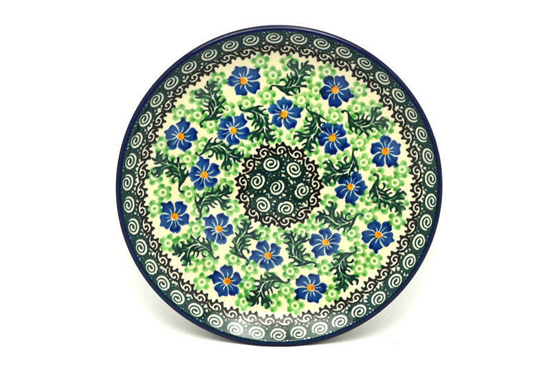 "Ceramika Artystyczna Polish Pottery Plate - Salad/Dessert (7 3/4"") - Sweet Violet 086-1538a (Ceramika Artystyczna)"