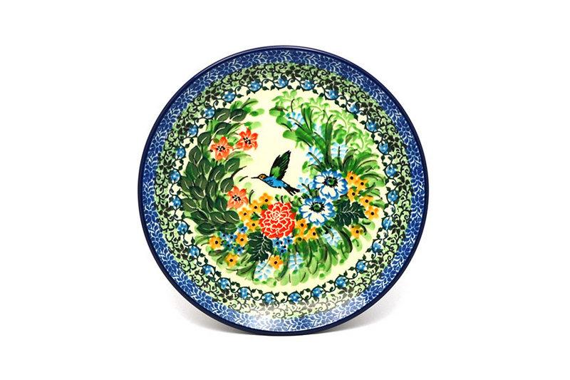 """Ceramika Artystyczna Polish Pottery Plate - Salad/Dessert (7 3/4"""") - Unikat Signature U3271 086-U3271 (Ceramika Artystyczna)"""
