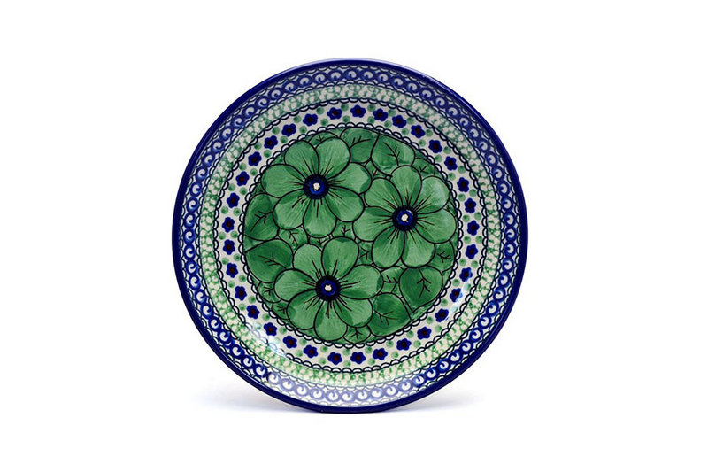 "Ceramika Artystyczna Polish Pottery Plate - Salad/Dessert (7 3/4"") - Unikat Signature U408A 086-U408A (Ceramika Artystyczna)"
