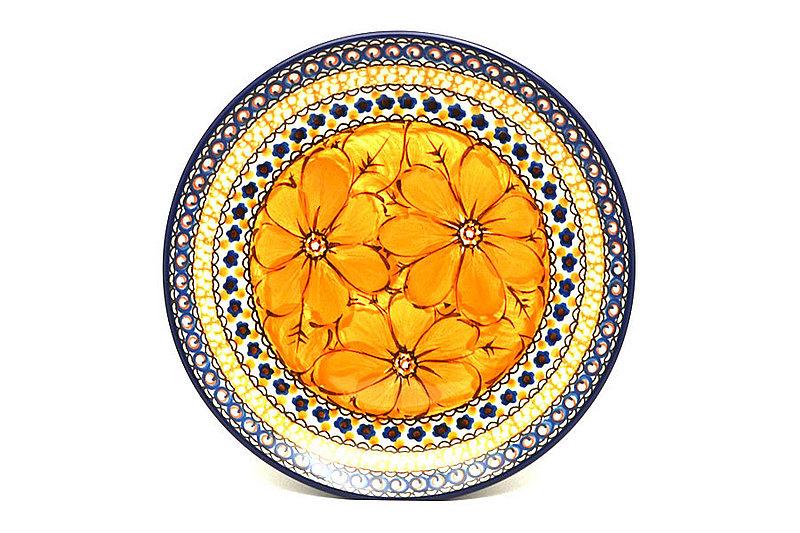 "Ceramika Artystyczna Polish Pottery Plate - Salad/Dessert (7 3/4"") - Unikat Signature U408B 086-U408B (Ceramika Artystyczna)"