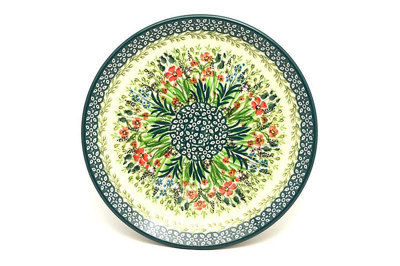 """Ceramika Artystyczna Polish Pottery Plate - Salad/Dessert (7 3/4"""") - Unikat Signature U4335 086-U4335 (Ceramika Artystyczna)"""