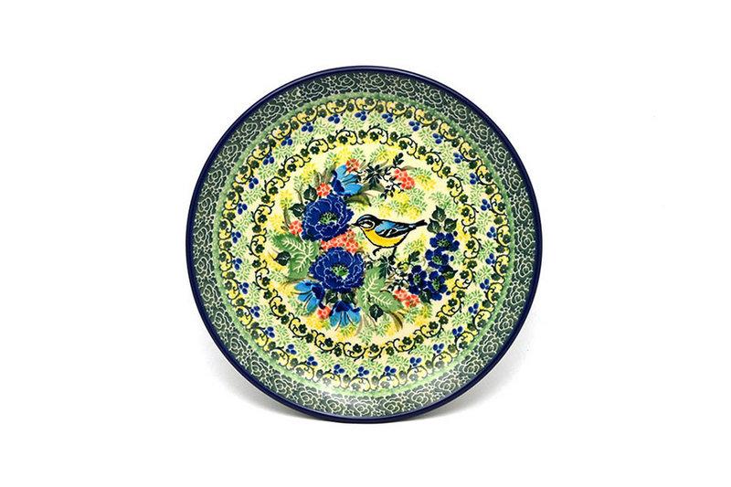 """Ceramika Artystyczna Polish Pottery Plate - Salad/Dessert (7 3/4"""") - Unikat Signature U4419 086-U4419 (Ceramika Artystyczna)"""