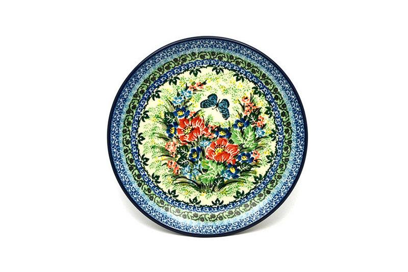 """Ceramika Artystyczna Polish Pottery Plate - Salad/Dessert (7 3/4"""") - Unikat Signature U4553 086-U4553 (Ceramika Artystyczna)"""