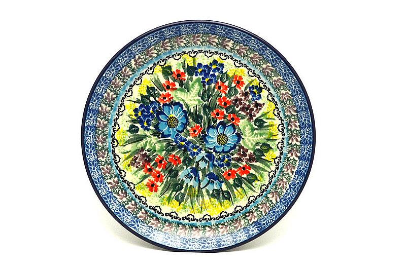 """Ceramika Artystyczna Polish Pottery Plate - Salad/Dessert (7 3/4"""") - Unikat Signature U4558 086-U4558 (Ceramika Artystyczna)"""