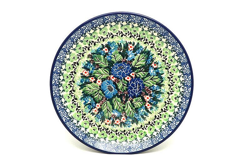 """Ceramika Artystyczna Polish Pottery Plate - Salad/Dessert (7 3/4"""") - Unikat Signature U4572 086-U4572 (Ceramika Artystyczna)"""