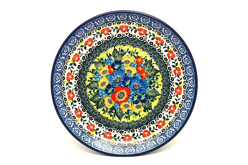 """Ceramika Artystyczna Polish Pottery Plate - Salad/Dessert (7 3/4"""") - Unikat Signature U4578 086-U4578 (Ceramika Artystyczna)"""