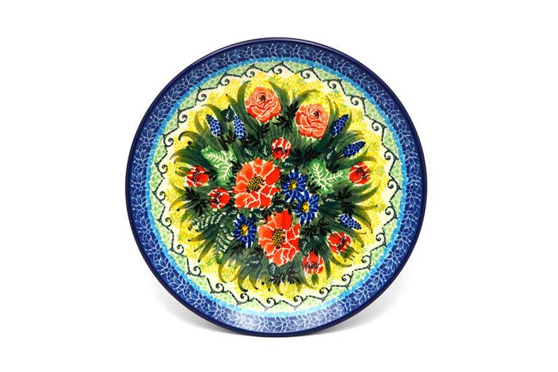 """Ceramika Artystyczna Polish Pottery Plate - Salad/Dessert (7 3/4"""") - Unikat Signature U4610 086-U4610 (Ceramika Artystyczna)"""