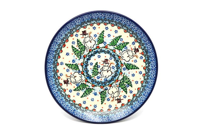 """Ceramika Artystyczna Polish Pottery Plate - Salad/Dessert (7 3/4"""") - Unikat Signature U4661 086-U4661 (Ceramika Artystyczna)"""