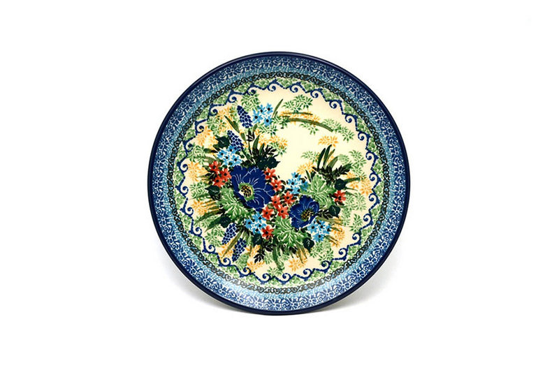 """Ceramika Artystyczna Polish Pottery Plate - Salad/Dessert (7 3/4"""") - Unikat Signature U4695 086-U4695 (Ceramika Artystyczna)"""