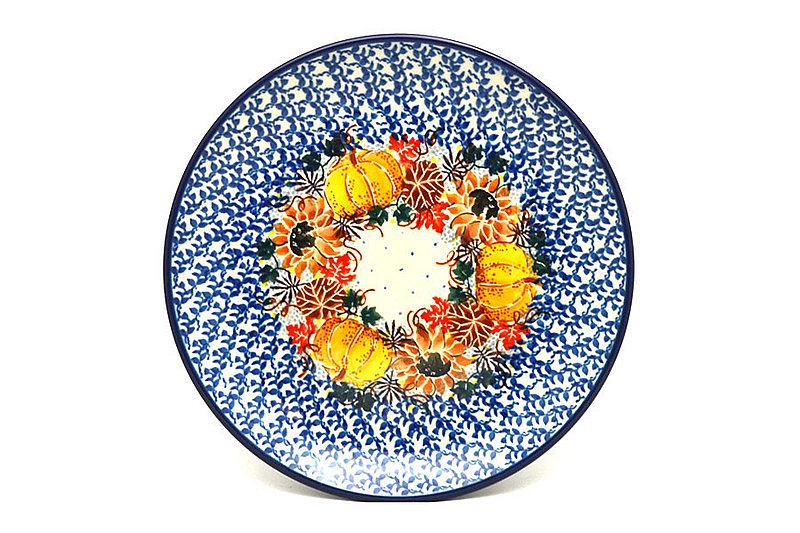 """Ceramika Artystyczna Polish Pottery Plate - Salad/Dessert (7 3/4"""") - Unikat Signature U4741 086-U4741 (Ceramika Artystyczna)"""