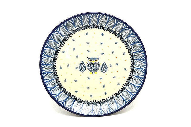 """Ceramika Artystyczna Polish Pottery Plate - Salad/Dessert (7 3/4"""") - Unikat Signature U4873 086-U4873 (Ceramika Artystyczna)"""