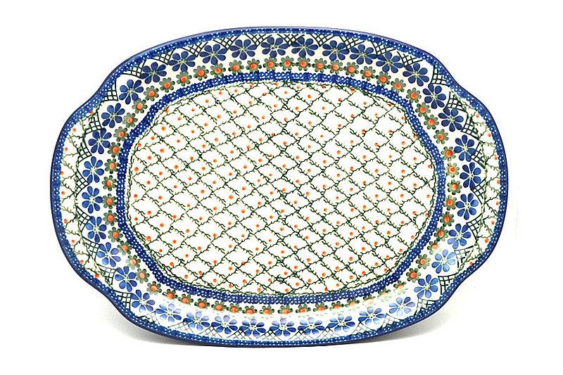Polish Pottery Platter - Oval - Primrose