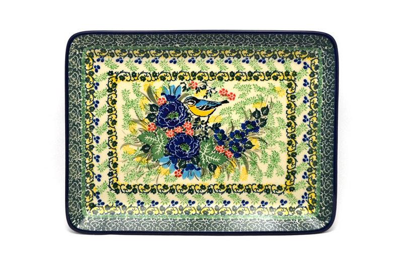 Ceramika Artystyczna Polish Pottery Platter - Rectangular - Unikat Signature U4419 111-U4419 (Ceramika Artystyczna)