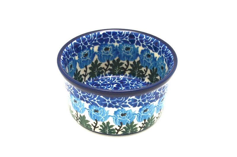 Ceramika Artystyczna Polish Pottery Ramekin - Antique Rose 409-1390a (Ceramika Artystyczna)