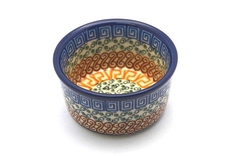 Ceramika Artystyczna Polish Pottery Ramekin - Autumn 409-050a (Ceramika Artystyczna)