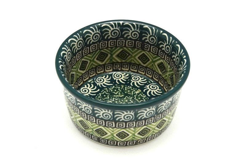Ceramika Artystyczna Polish Pottery Ramekin - Aztec Forest 409-1919q (Ceramika Artystyczna)