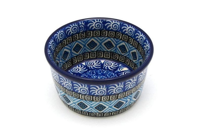 Ceramika Artystyczna Polish Pottery Ramekin - Aztec Sky 409-1917a (Ceramika Artystyczna)