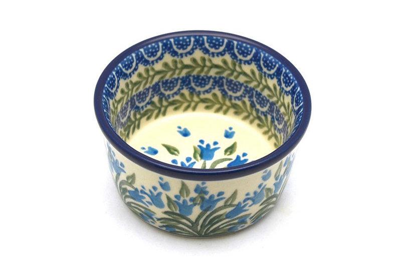 Ceramika Artystyczna Polish Pottery Ramekin - Blue Bells 409-1432a (Ceramika Artystyczna)
