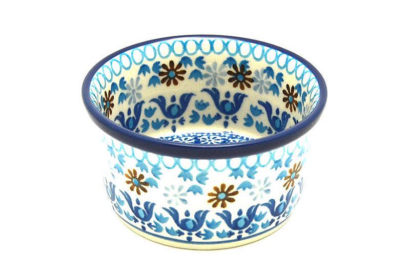 Ceramika Artystyczna Polish Pottery Ramekin - Blue Yonder 409-2187a (Ceramika Artystyczna)