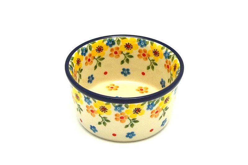 Ceramika Artystyczna Polish Pottery Ramekin - Buttercup 409-2225a (Ceramika Artystyczna)