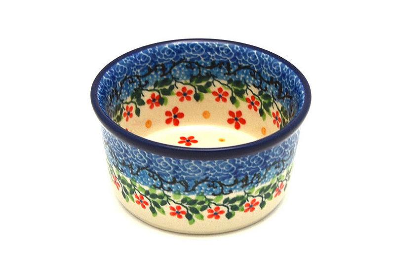 Ceramika Artystyczna Polish Pottery Ramekin - Cherry Jubilee 409-2284a (Ceramika Artystyczna)