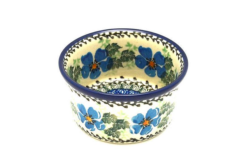 Ceramika Artystyczna Polish Pottery Ramekin - Morning Glory 409-1915a (Ceramika Artystyczna)